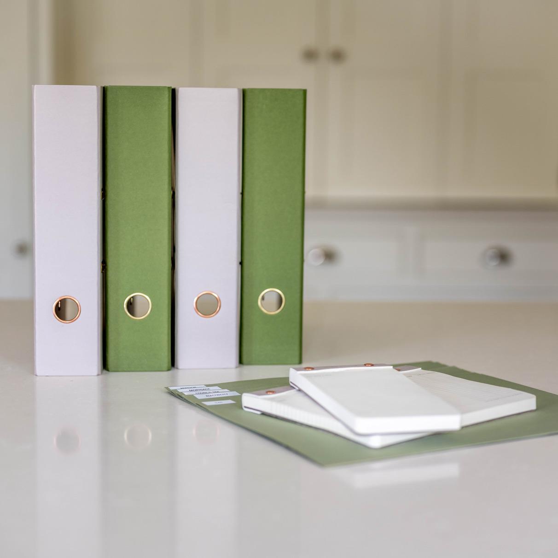 Organised paperwork